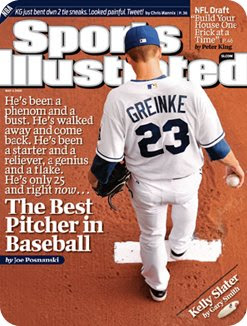 Zack Greinke is untouchable this season.