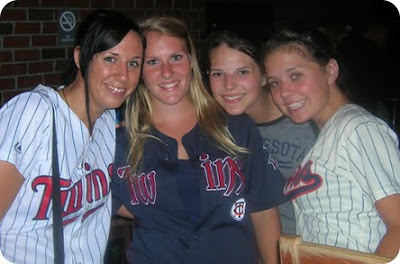 At Hockeytown with some fellow TwinsTrain ladies