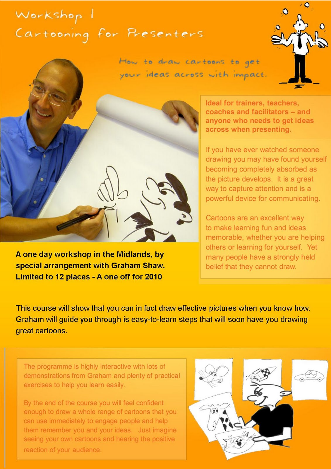 Cartooning For Presenters And Trainers Evonomie