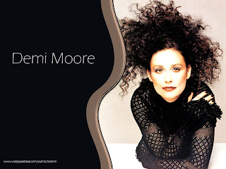 Sexy Demi Moore Wallpaper