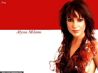 Alyssa Milano Cool Wallpaper