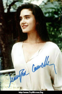 Jennifer Connelly Signed Picture