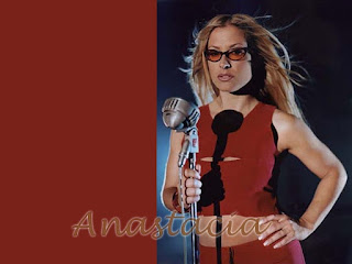 Anastacia Singing Wallpaper