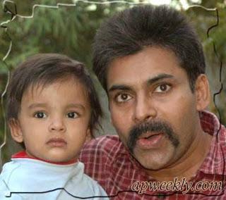 Pawan Kalyan with Akira