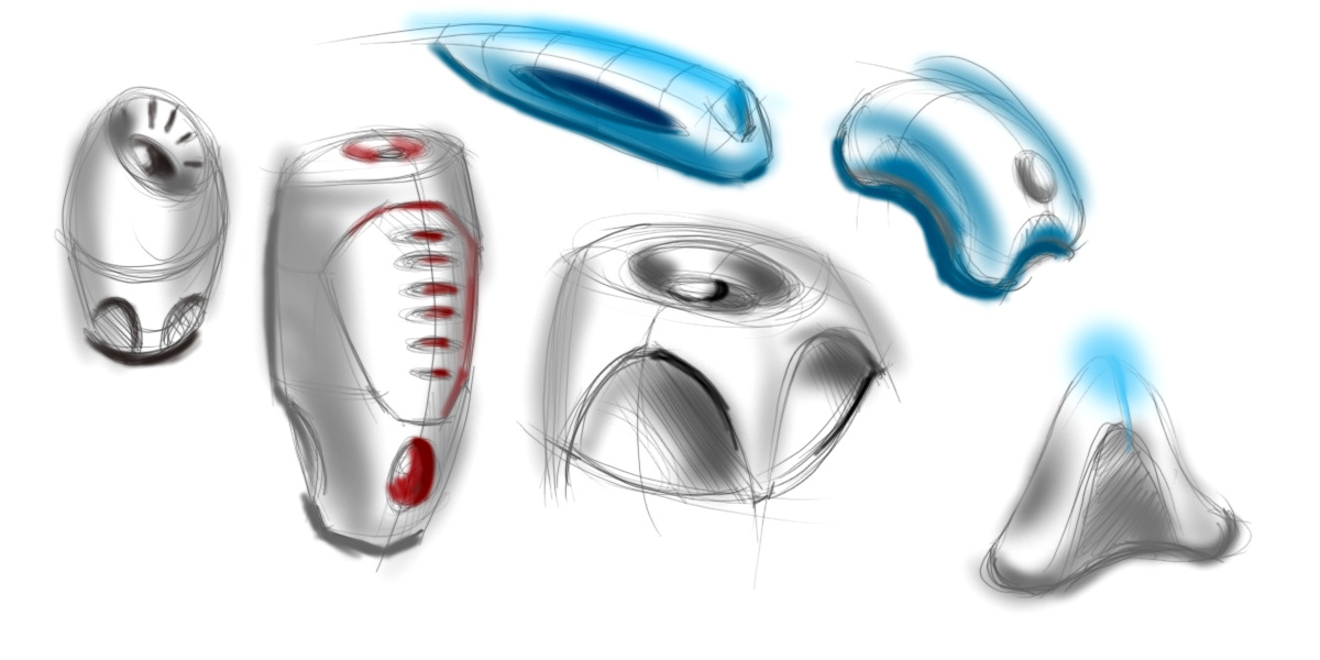 product design tumbnail sketches
