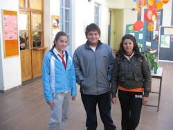 Alumnos que nos representaron en los Nacionales de atletismo