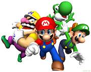 Trata de que Mario, Luigi y Wario fueron a una fiesta al castillo de Peach, .