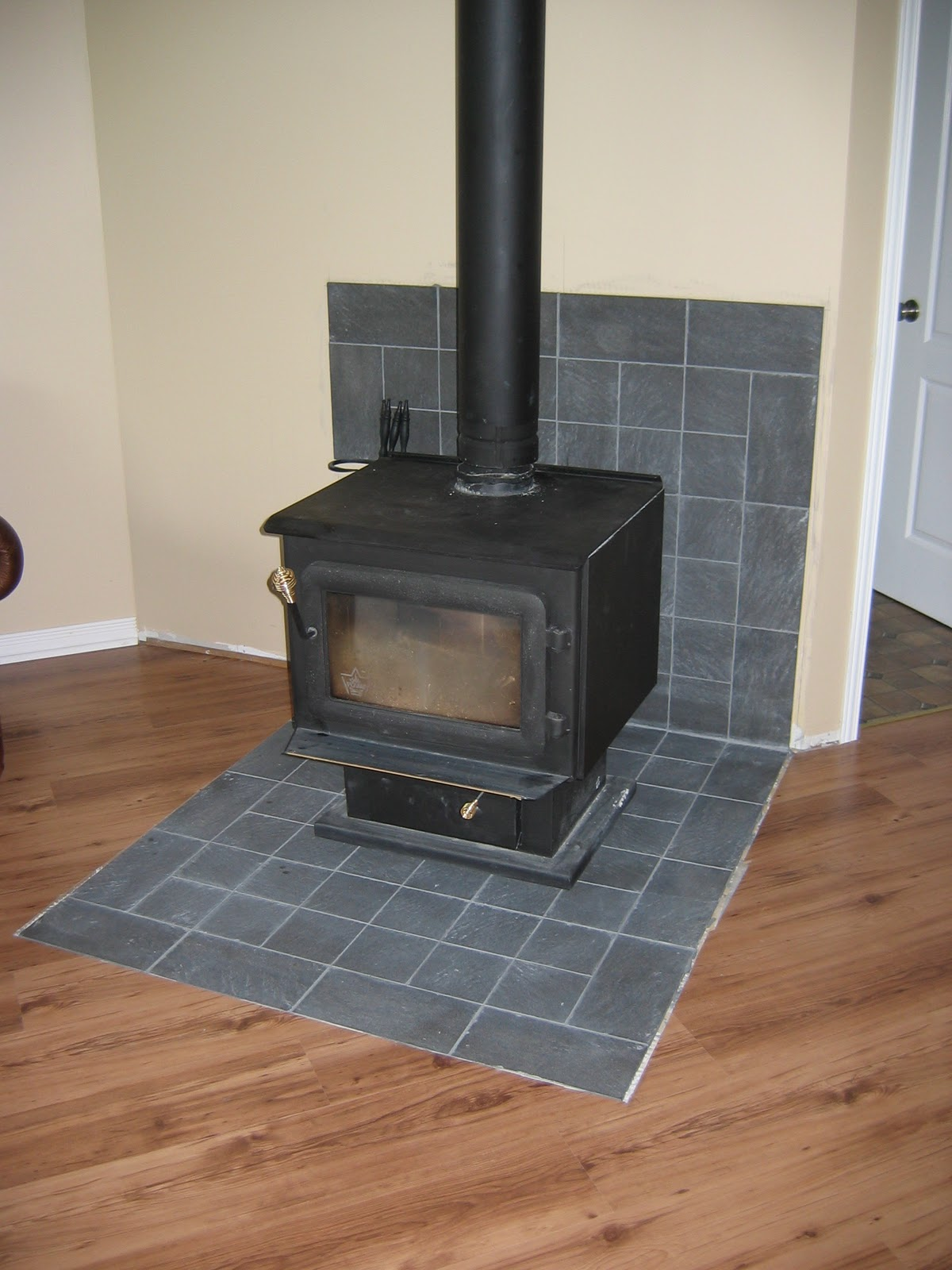 cottage on the edge - the diy cottage blog: heat shield for the