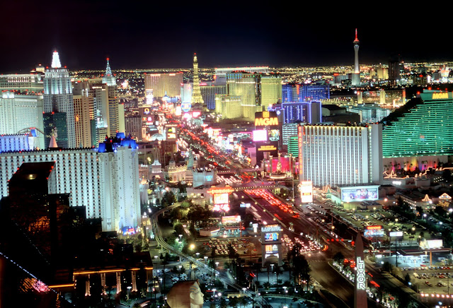 Las Vegas, Las Vegas strip