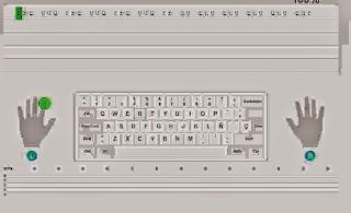 Aprender a escribir con el teclado Typingweb