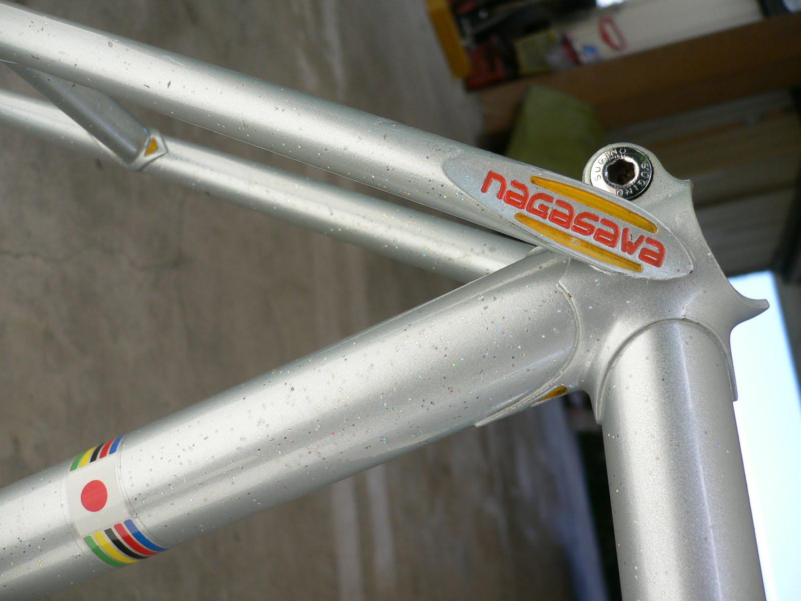 njs keirin track bike &frame for sell: NAGASAWA keirin track frame ...