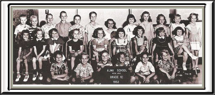 ALMA 1st. grade group 1952