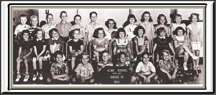 ALMA 1st. grade group 1952