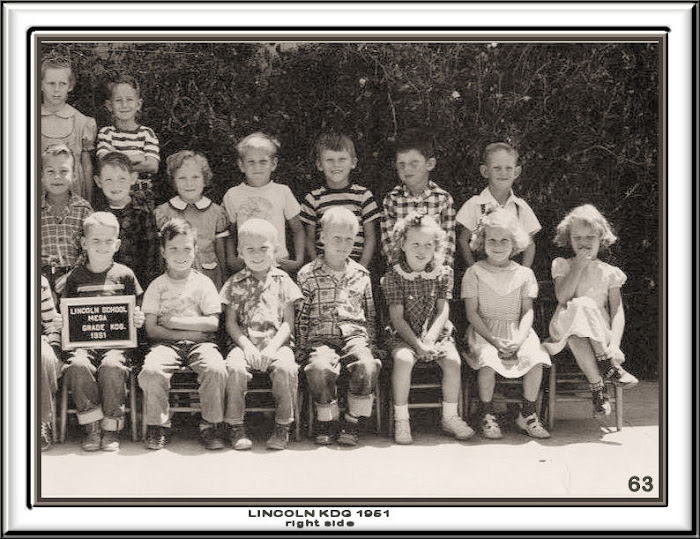 LINCOLN KINDERGARTEN 1951 RIGHT SIDE