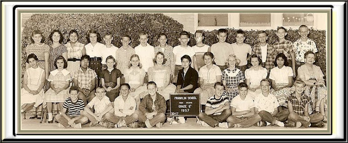FRANKLIN  6th grade group 1957