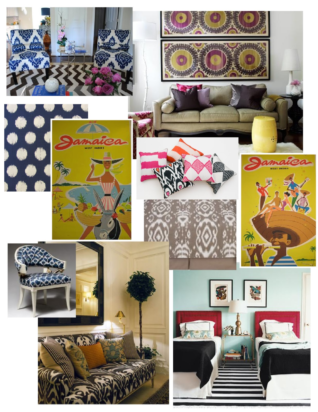 bargain luxury decorating on a dime