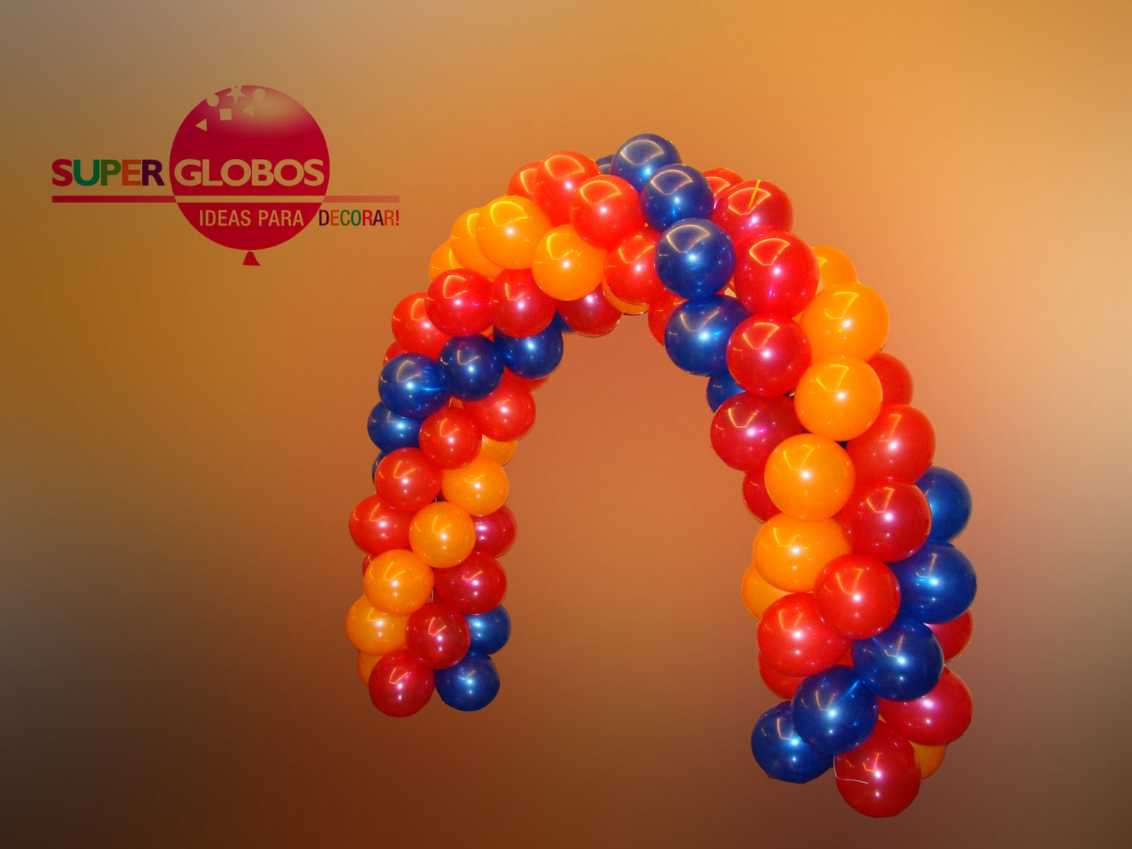 Columnas y arcos de globos decoraci n con globos para - Globos para eventos ...