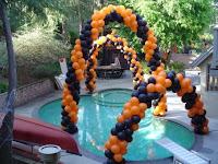 decoramos tu fiesta o evento con arcos, figuras, columnas hechas con globos