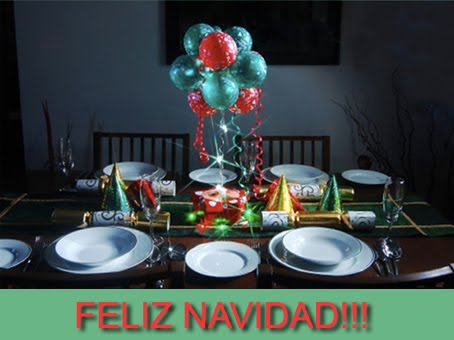 Decoraci n con globos para navidad decoraci n con globos for Decoracion de salon navideno
