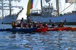 Radio comunicacion para kayak