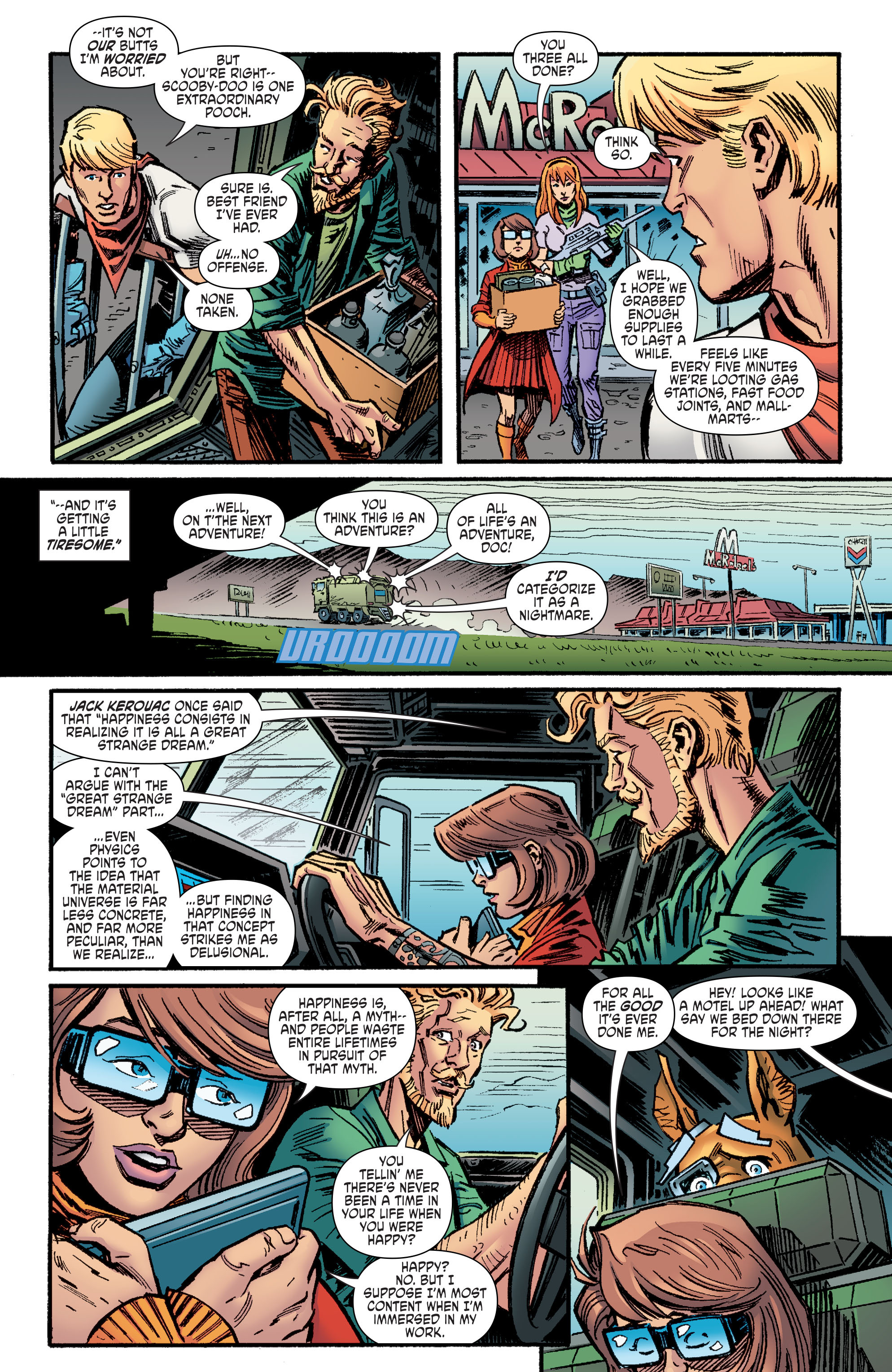 Read online Scooby Apocalypse comic -  Issue #9 - 14
