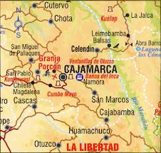 Mapa de Ubicacion de La Granja Porcon