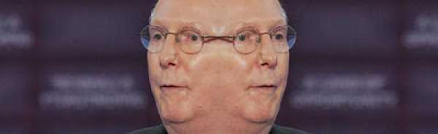 McConnell shown with two faces