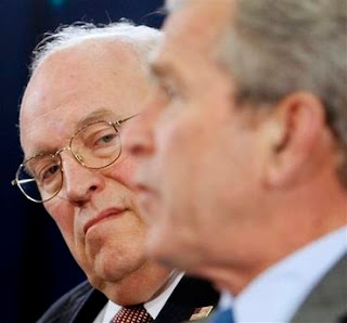 Cheney and Bush