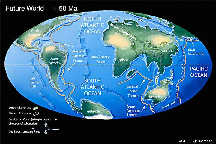 Peta dunia dari zaman dahulu sampai zaman modern