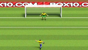 Fun game sport: Penalty shootout football game