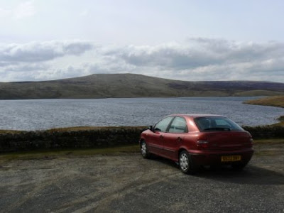 By Cow Green Reservoir in the North Pennines