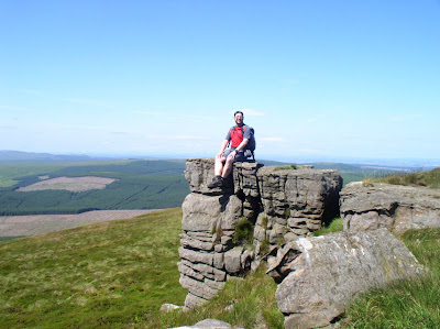 On Jennie Storrie's Stone on Peel Fell in the Cheviots