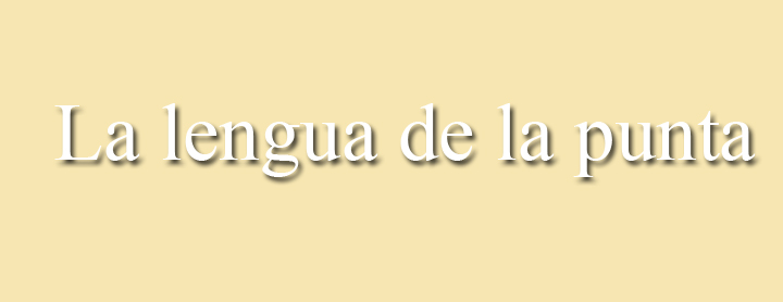 La lengua de la punta. Un blog de Carlos Carneros