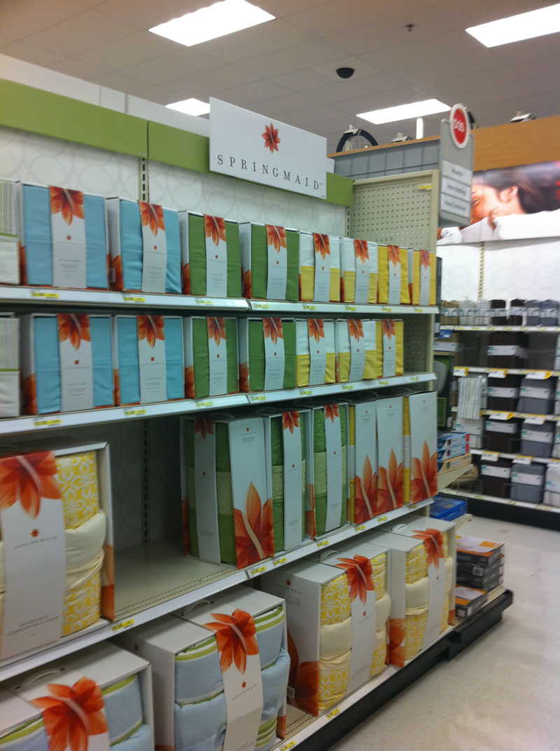 springmaid at target — fresh! | what's in store