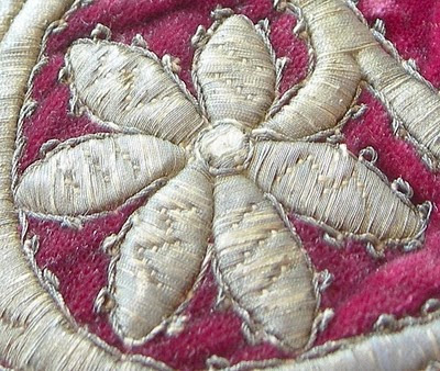 antique metal thread embroidery