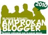 Bekasi Bersih Partisipasi Blogger