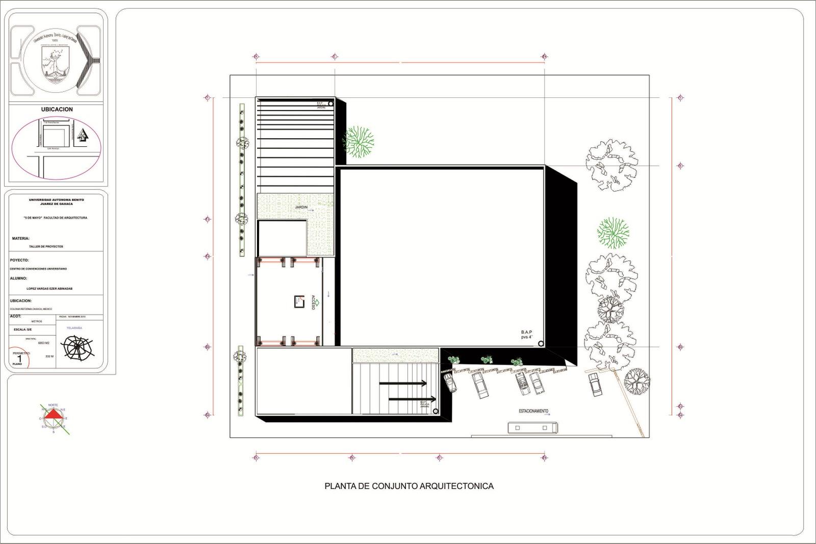 Proceso de dise o arquitectonico de un centro de for Salon de usos multiples programa arquitectonico