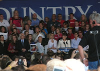 McCain-Palin rally in Cedar Rapids, IA, photo by K.S. Gollnick