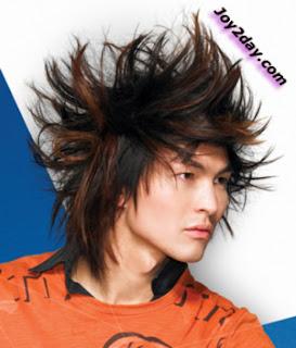 Punk Hair Style Man