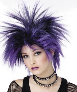 Punk Hair Style women