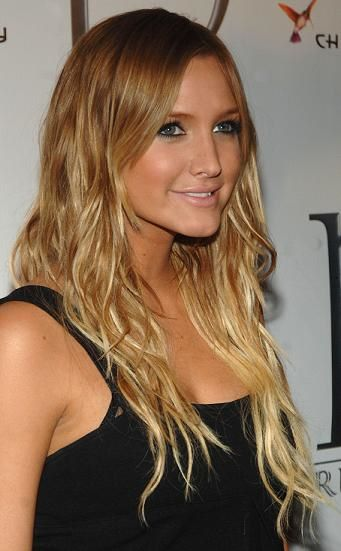 long blonde hairstyles with bangs. dark londe hairstyles 2010.