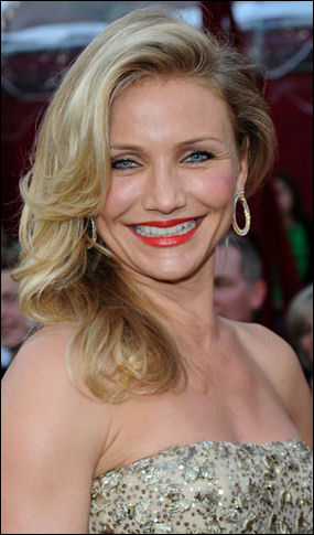 cameron diaz hairstyle. cameron diaz hair the holiday.