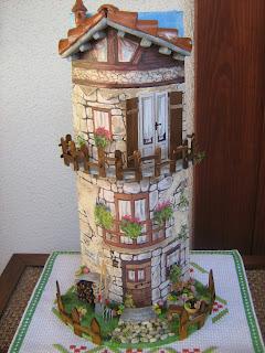 Speedy creativa marzo 2009 - Tegole decorate in rilievo ...