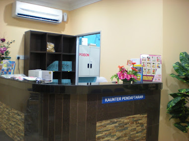 information and registration counter