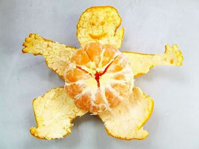 The health benefits of orange peel