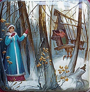 The stories La tells....: Baba Yaga.....a folktale from Russia