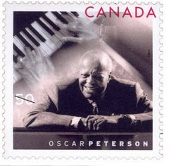 Canadian Jazz Musician & Composer - OSCAR PETERSON