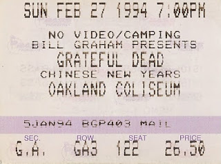 chinese new year 1994 22594 22694 grateful dead oakland coliseum oakland ca 22794 - Chinese New Year 1994