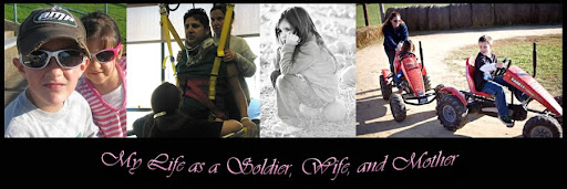 My life as a soldier, wife and mother