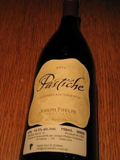 Joseph Phelps Vin du Mistral Red Pastiche 2005